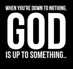 god is up to