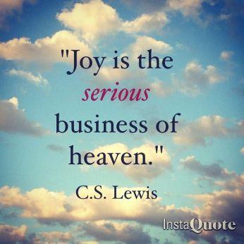 joy is serious