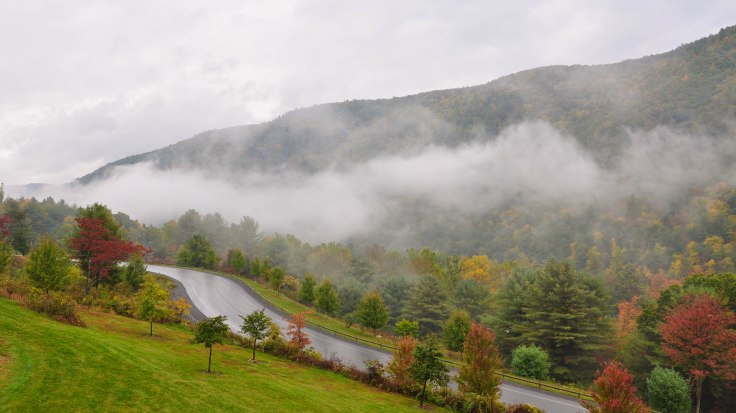 Waterville, PA along the Pine Creek River. Photographed by Tina D. Stephens